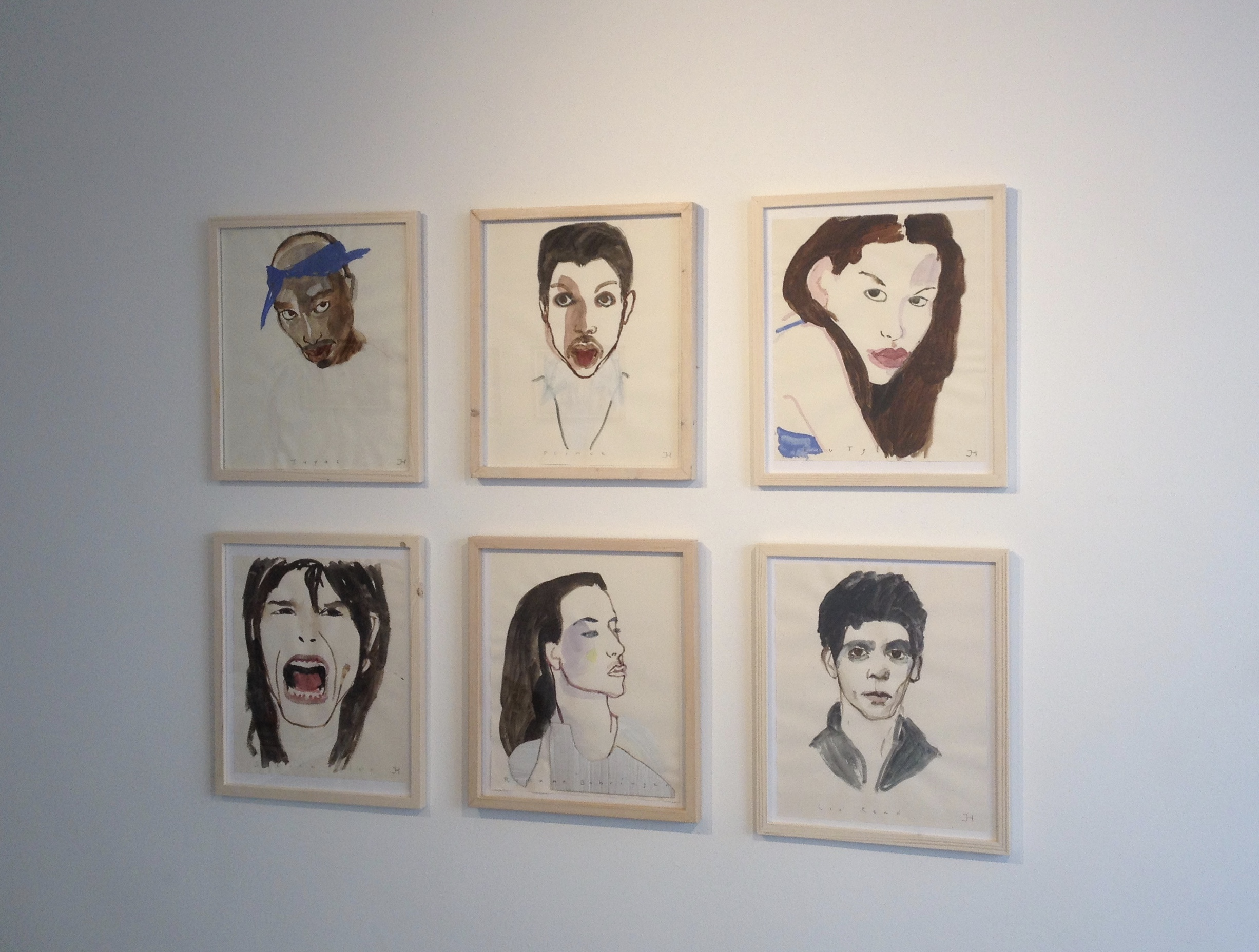 Werk van Joke Hak in de galerie
